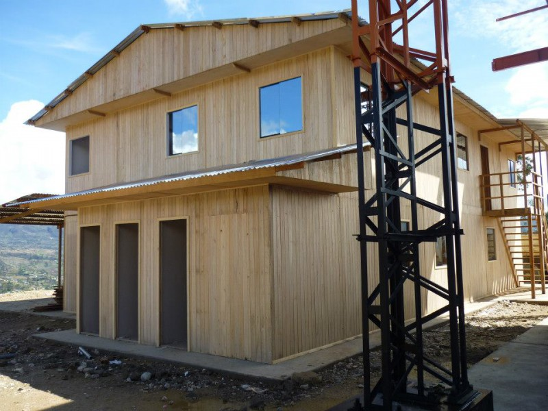 Campamento Prefabricados Peru Casas Prefabricadas De Madera