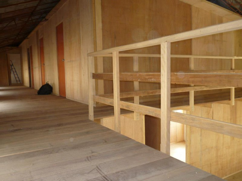 Carpinteria prefabricados per casas prefabricadas de - Prefabricados de madera ...