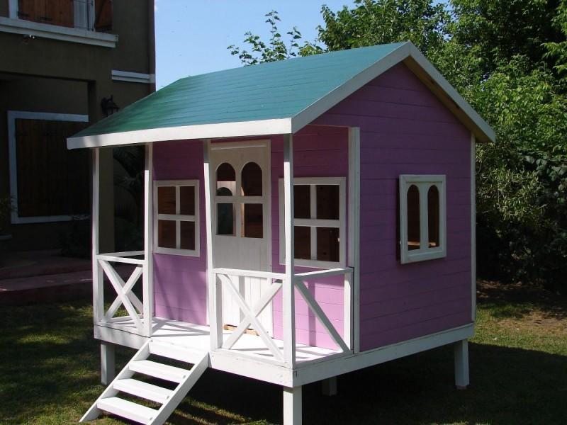 Casitas de perro prefabricados per casas for Casas de madera para jardin ofertas