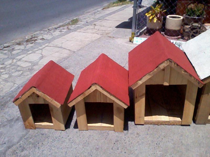 Casitas de perro prefabricados per casas Casas para perros de madera