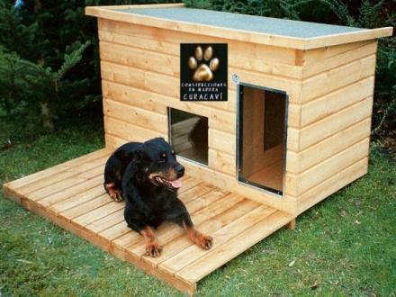 Casitas de perro prefabricados per casas - Casas para perros con palets ...