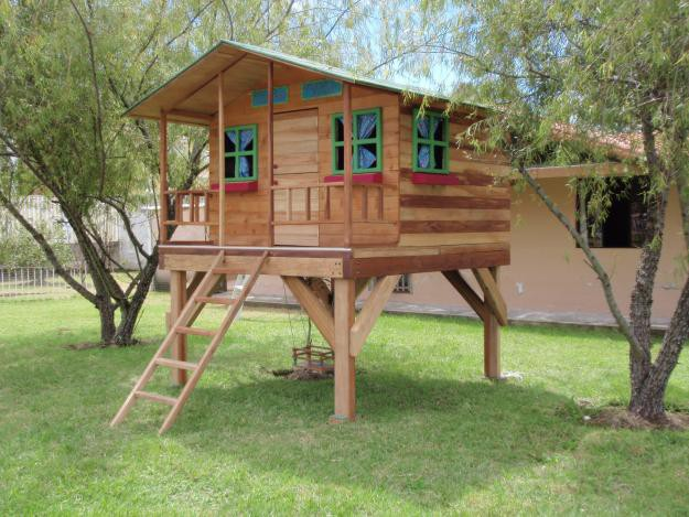 Casitas para ni os prefabricados per casas for Casas infantiles de madera para jardin