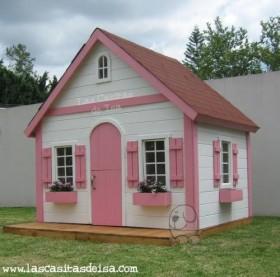 Casitas para ni os prefabricados per casas for Casitas de madera para jardin para ninos