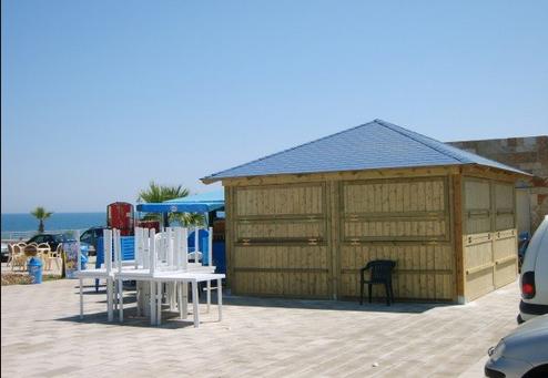 Kioskos prefabricados per casas prefabricadas de madera for Kioscos prefabricados